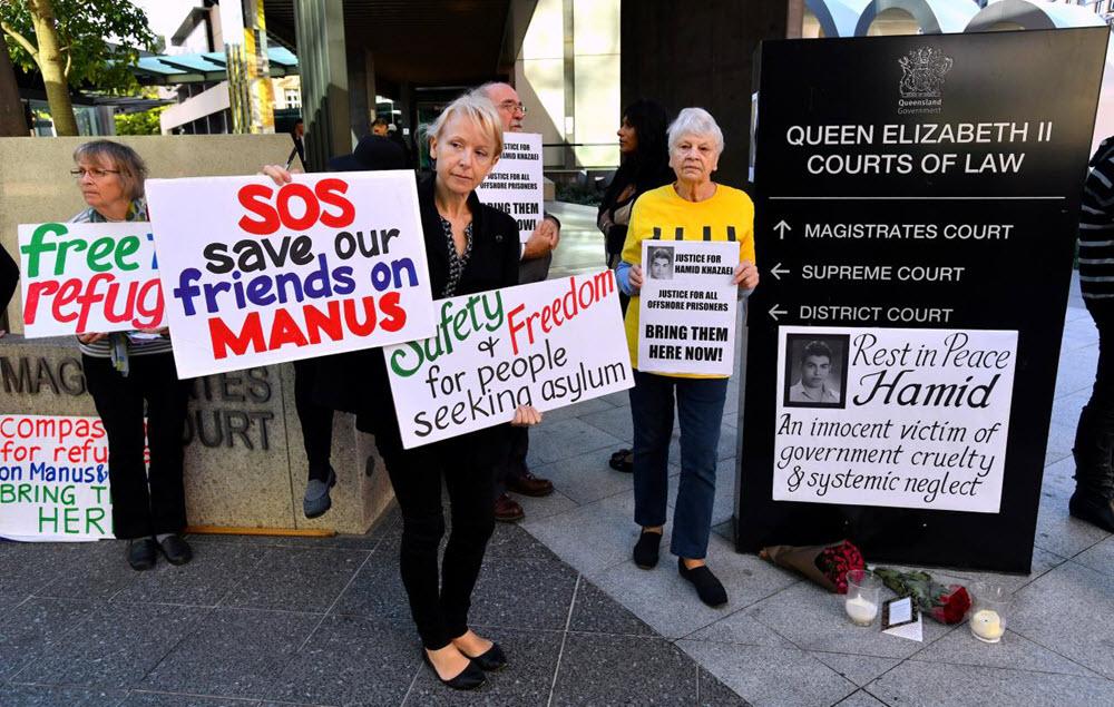Australia Blamed for Death of Iranian Asylum Seeker in 2014