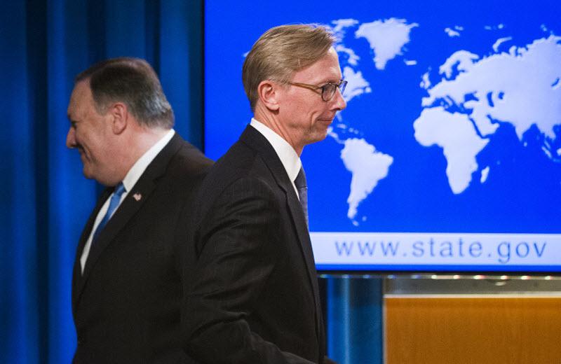 Brian Hook as the Special Representative of Iran
