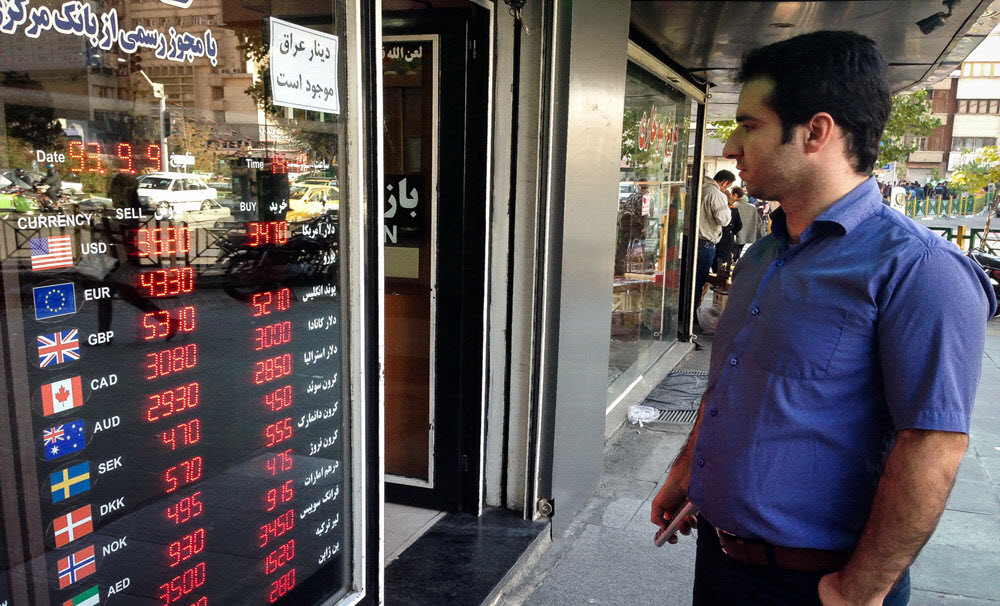 Iran Rial Plummets to Record Low in the Face of Us Sanctions' Effective Date