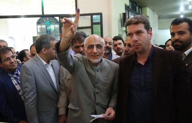 Mostafa Mir-salim, former MCIG leader
