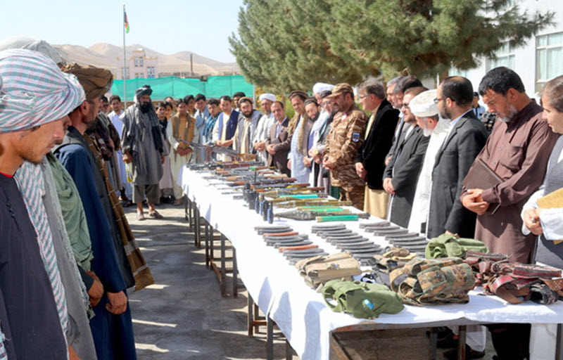 Afghanistan's Security Forces Seize Iran-Made Weapons from Taliban