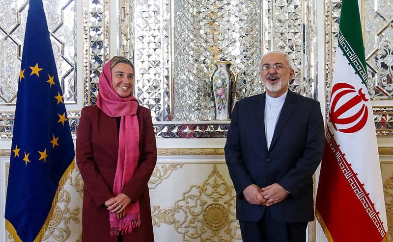 Federica-Mogherini-with-Javad-Zarif-in-Tehran