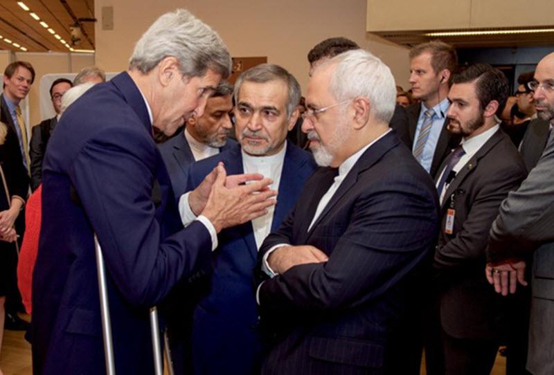 Javad Zarif and John Kerry