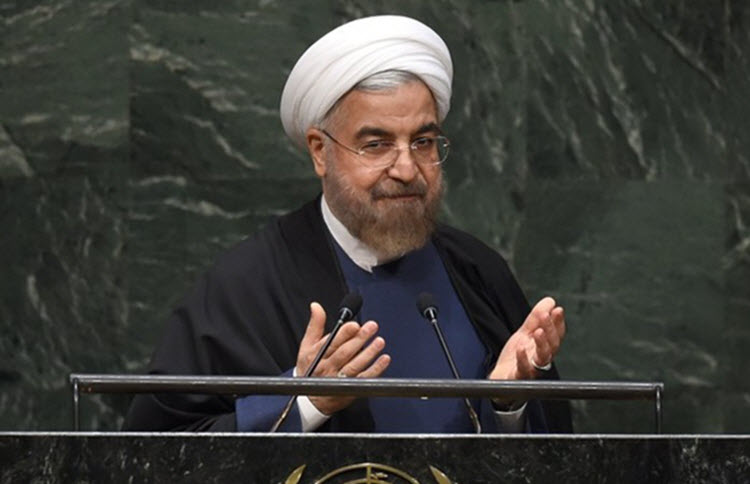 Rouhani Speak at UN General Assembly