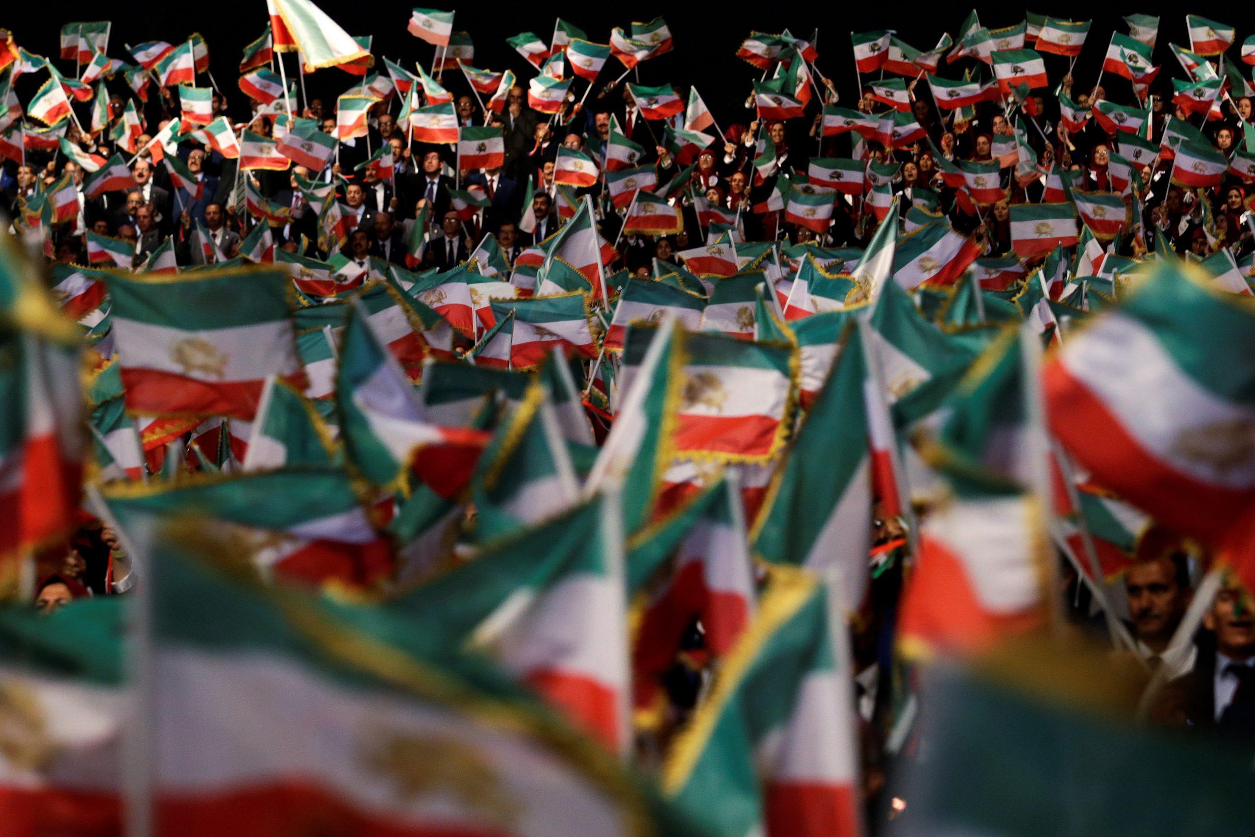 MEK Iran's protests for free Iran
