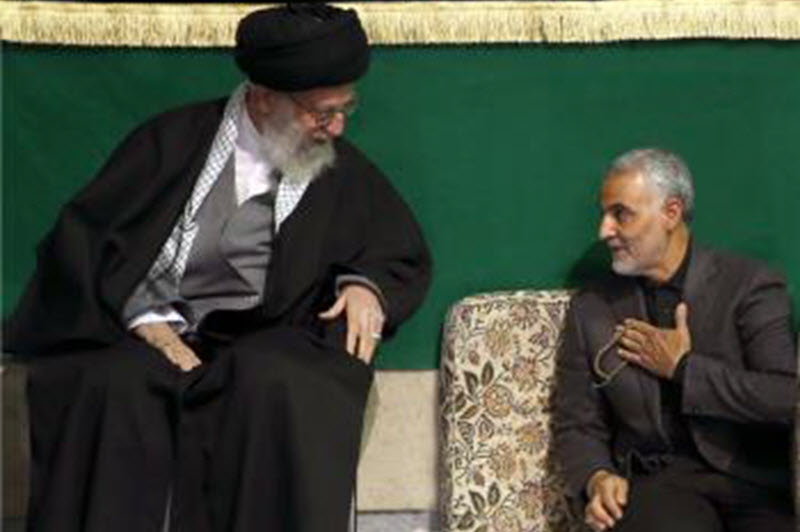 General Qassem Soleimani, commander of Iran's Quds Force
