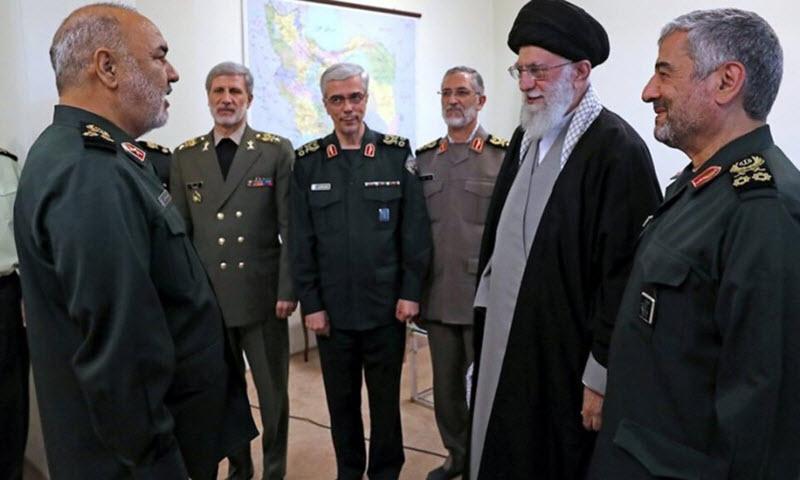 Iran's Supreme Leader Ali Khamenei appointed Hossein Salami as the new head of the Islamic Revolutionary Guards Corps (IRGC)