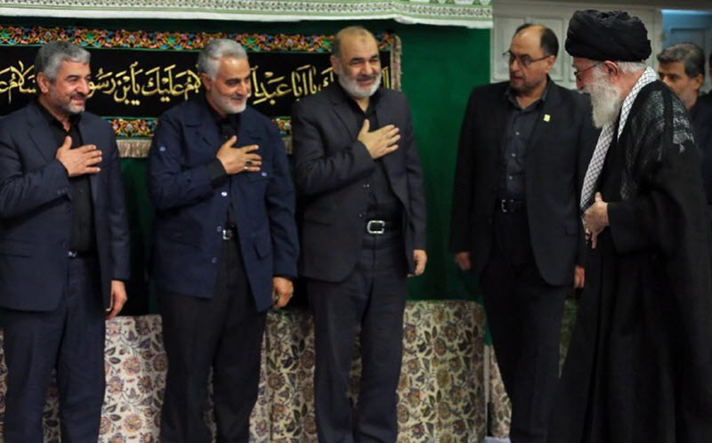 Iran's supreme leader Ali Khamenei has appointed Brigadier General Hossein Salami as the new head of the Iranian Revolutionary Guard Corps