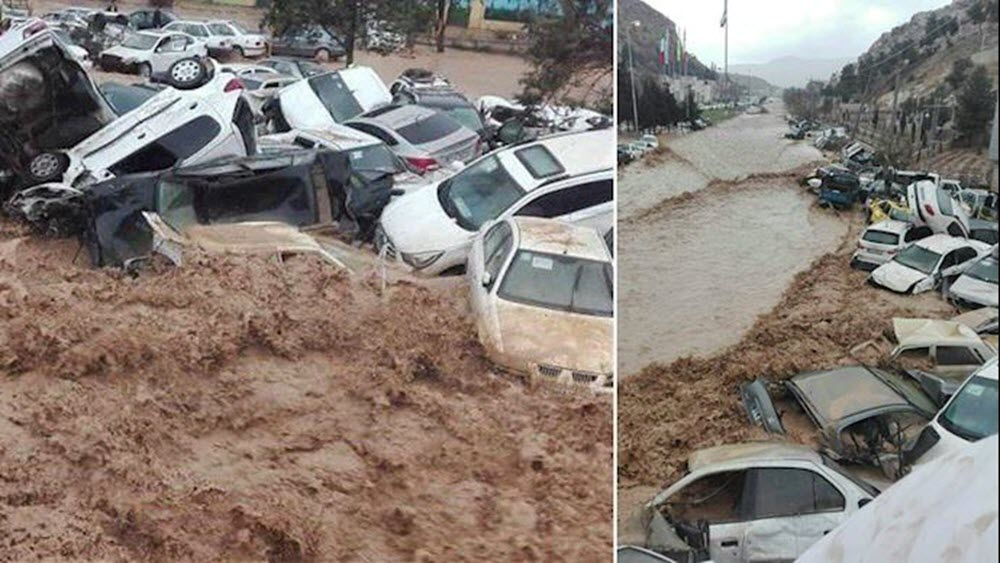 Persian New Year Sees Devastating Floods Throughout Iran