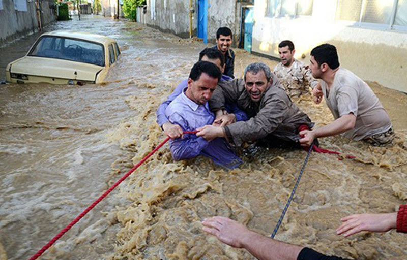 The Iranian People in Flood Stricken
