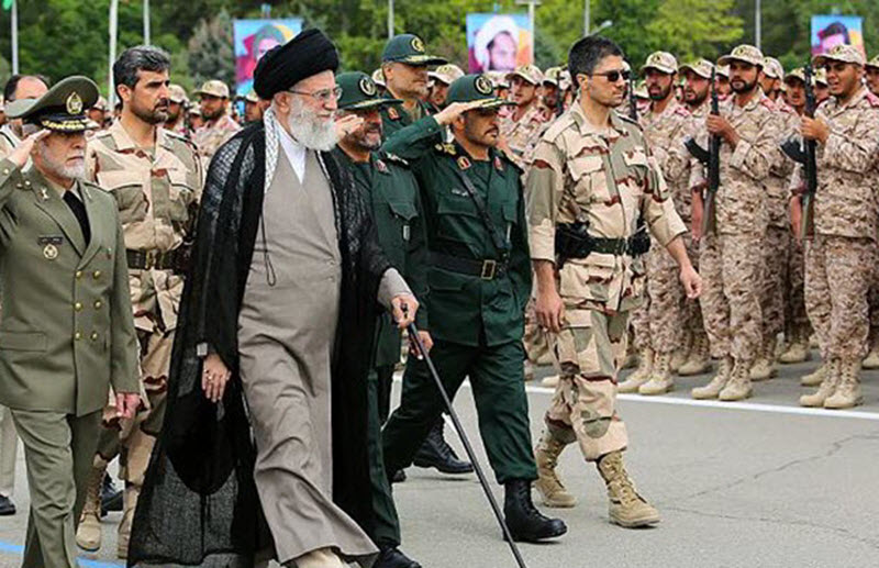 What does the IRGC terrorist designation mean?