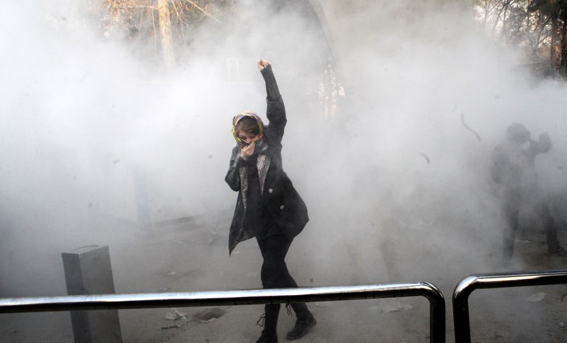 Iran: Clashes with young protesters and suppressive forces