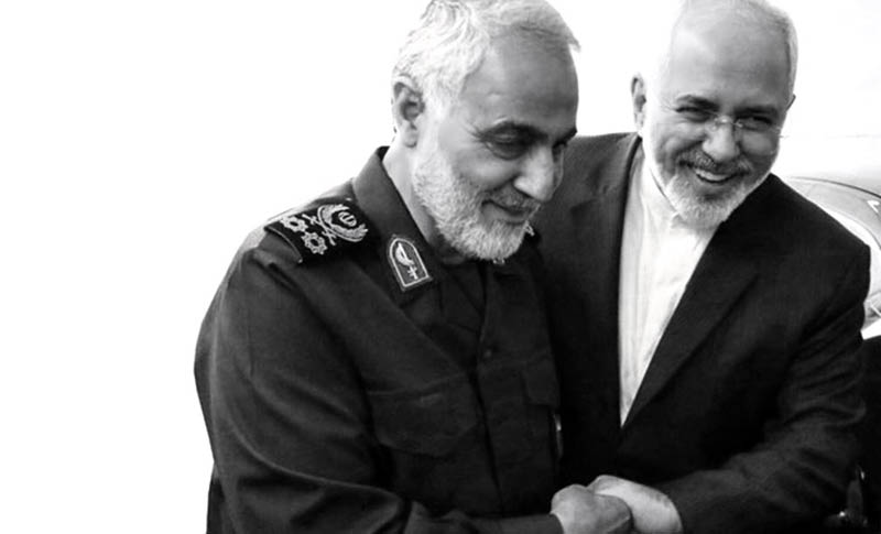 Donald Trump sanctioned Iranian foreign minister Mohammad Javad Zarif