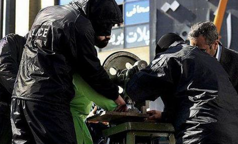 Recent reports state that seven people in Tehran have been sentenced to flogging, hand amputation and finger amputation in the city of Tehran. They were arrested for robbery.