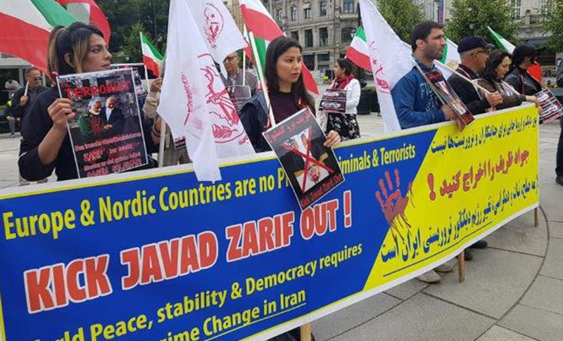 Why did Norway welcome Zarif