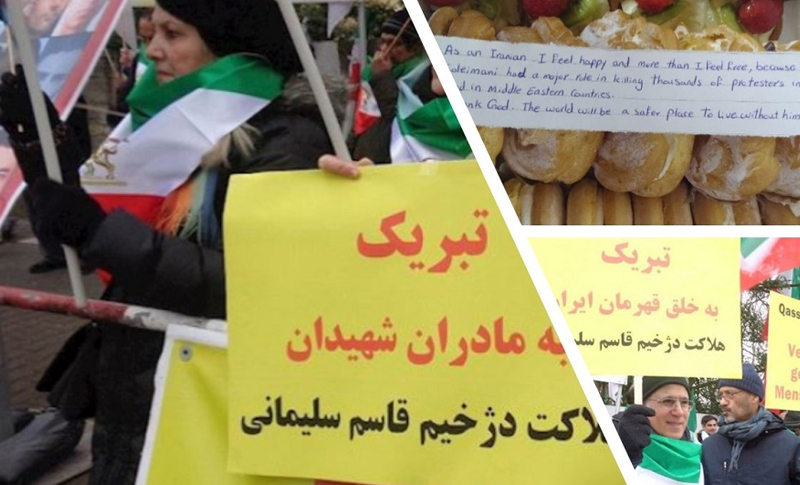 The death of the Iranian regime's top terrorist in a US drone strike on Friday has been celebrated by Iranians and their supporters around the globe, as we as by many in the Middle Eastern countries where he committed so many atrocities.