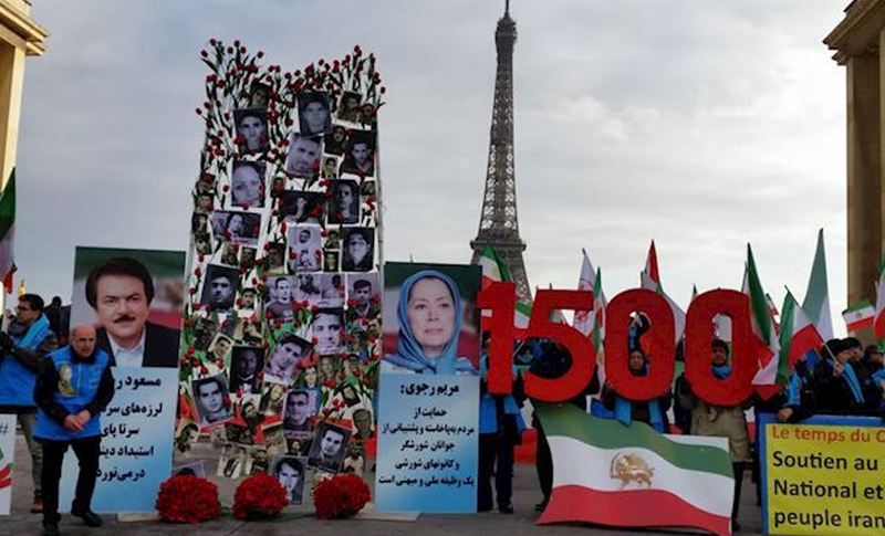 The Iranian Regime was extremely concerned over sparking another nationwide protests on the 40th day of memorial of martyrs killed by the security forces.