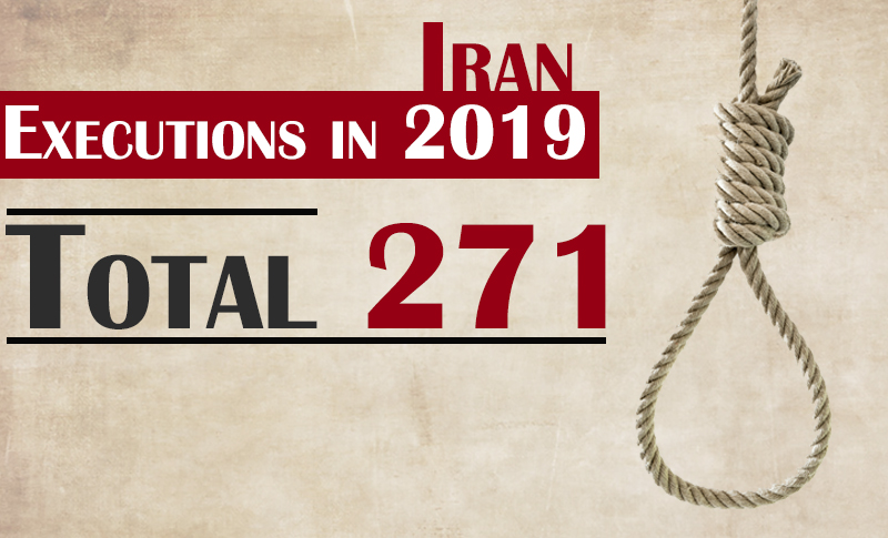 The stopfundamentalism.com has recorded the execution of more than 200 individuals since the beginning of 2019 in Iran. At least eight juvenile offenders and 16 women were executed. Six of those executed were political prisoners. The Iranian regime uses execution as an instrument to suppress and silence the Iranian peoples protests and those who live under the poverty line, are unemployed and deprived of freedom of expression.