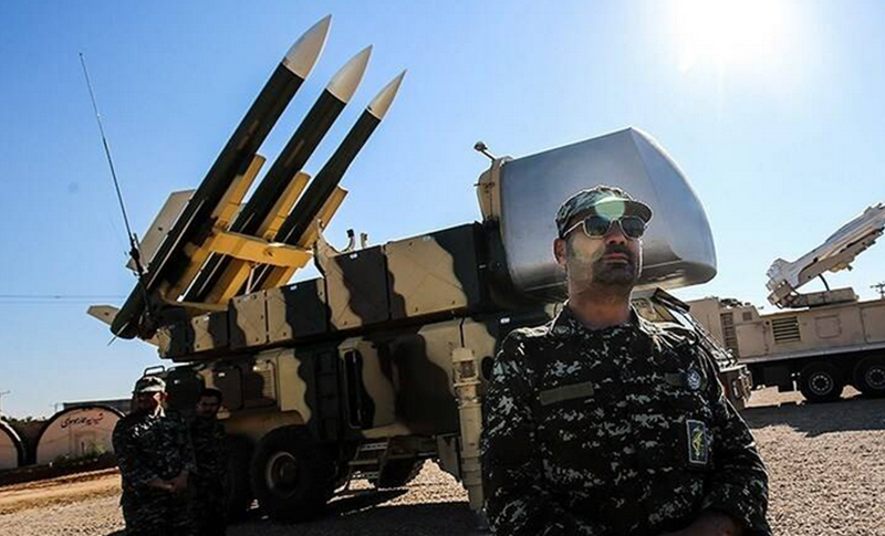 IRGC missile stockpiled in Iraq and Syria