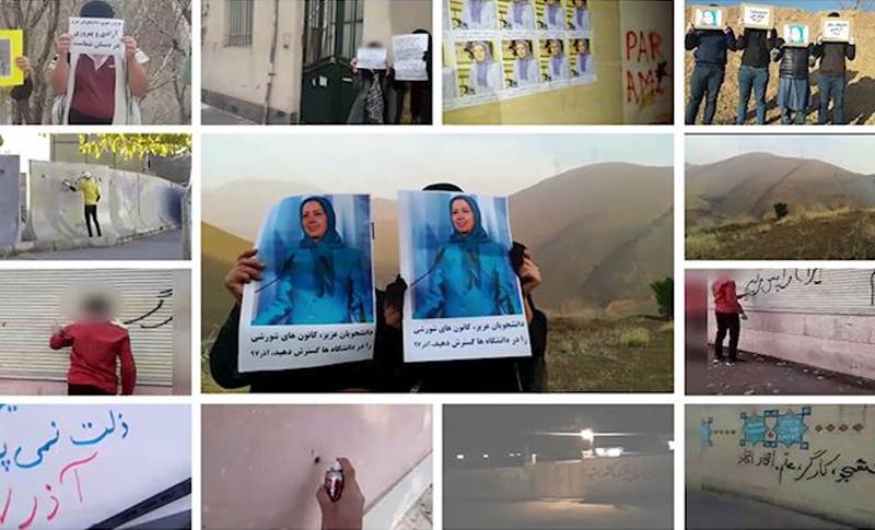 MEK Resistance Increases Across Iran