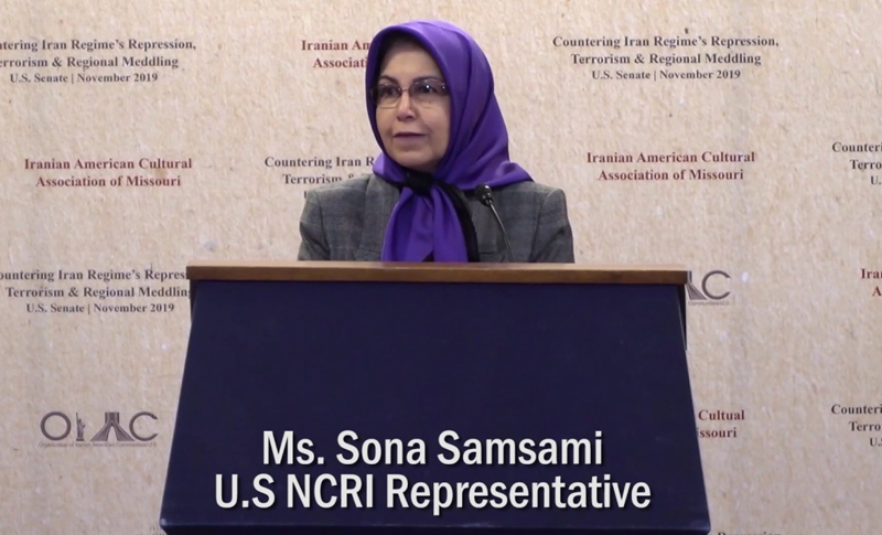 "The US Representative of the National Council of Resistance of Iran (NCRI-US), Soona Samsami, has welcomed the unanimous passing of a resolution (H.Res.752), entitled ""Supporting the rights of the people of Iran to free expression, condemning the Iranian regime for its crackdown on legitimate protests, and for other purposes"", in the Foreign Affairs Committee of the US House of Representatives."