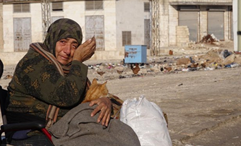 Syrian and Iranian Regimes killing civilians in Idlib