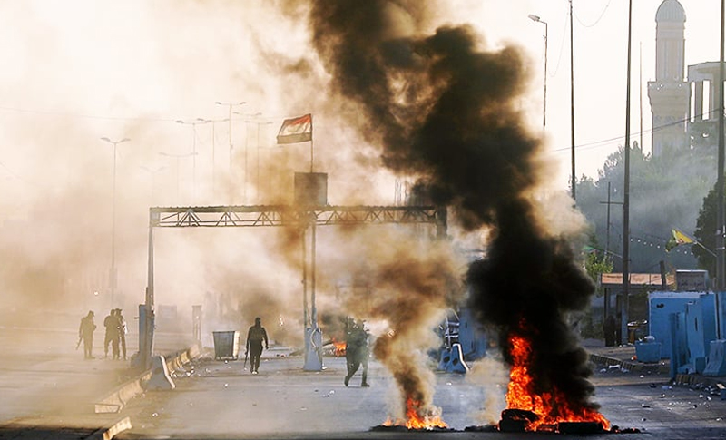 The central, southern and eastern provinces of Iraq witnessed in past three months many protests against the government.