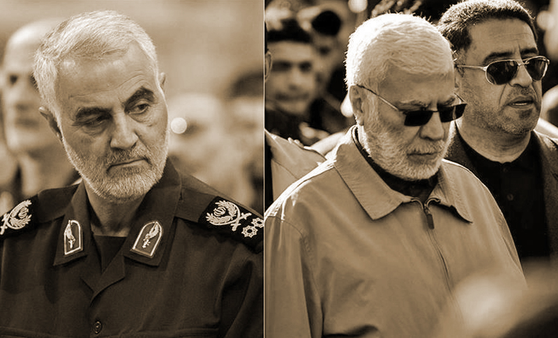 On January 3, US rockets hit two cars in Iraq; one carrying Iranian Quds Force leader Qassem Soleimani and one carrying the leader of the Iraqi Popular Mobilization Forces (Hachd-o-Chaabi), Abu Mahdi al-Muhandis. All occupants were killed.