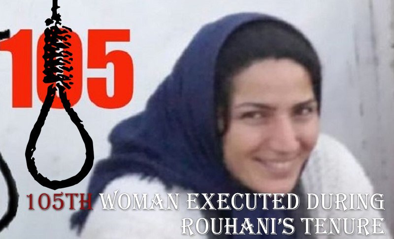 It has been reported that on Tuesday 14th January 2020, another woman has been executed in Iran. This brings the total number of women executed in Iran since President Hassan Rouhani took office to more than a hundred.