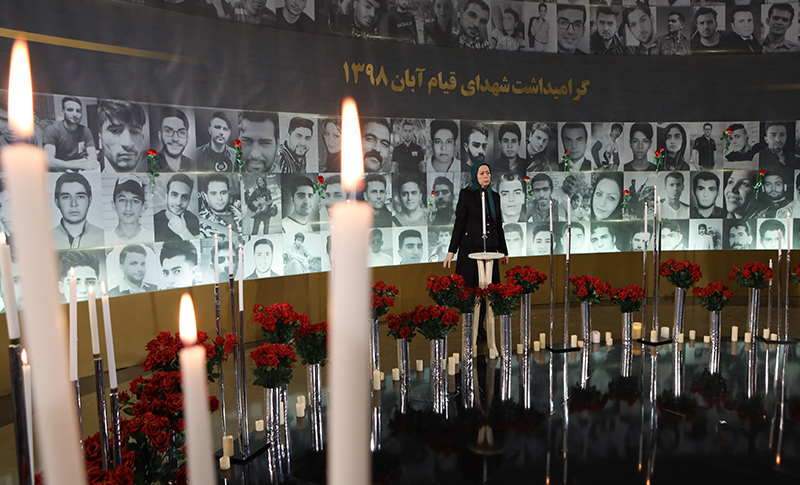 40th-Day Commemoration of Martyrs of Iran Nationwide Protests in Ashraf-3 MEK's Headquarters in Albania