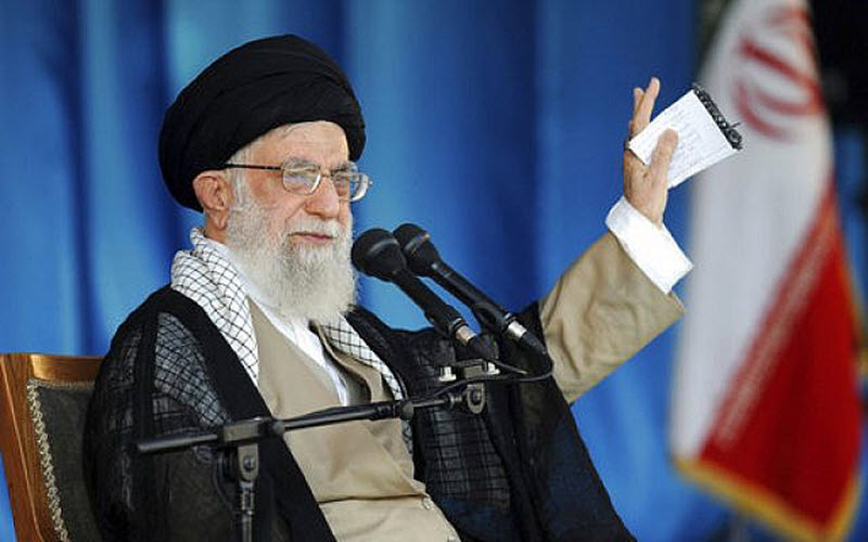 the Islamic Republic's Supreme Leader, Ali Khamenei