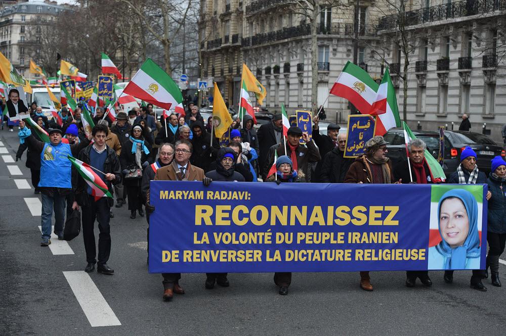 MEK Rally in Paris Against Iran Regime