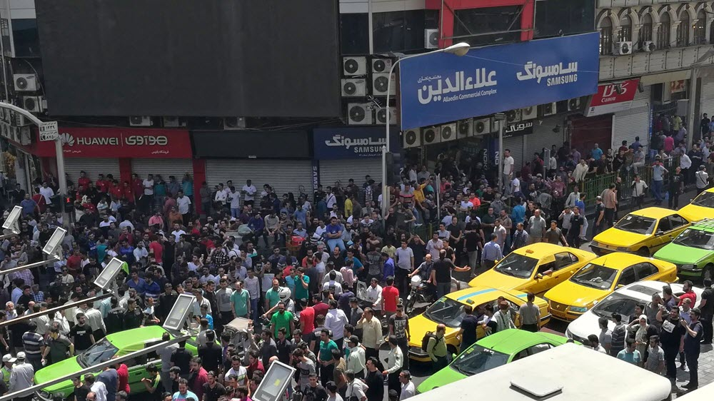 Iran Regime Facing Economic Meltdown and Nationwide Protests
