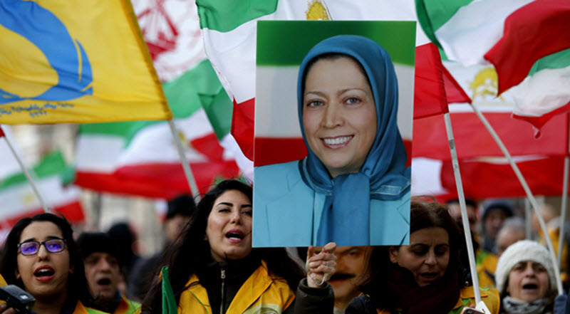 Iranian people's legitimate demand for regime change