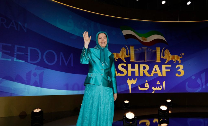 """Leader of the Iranian opposition: """"We will take back Iran"""""""