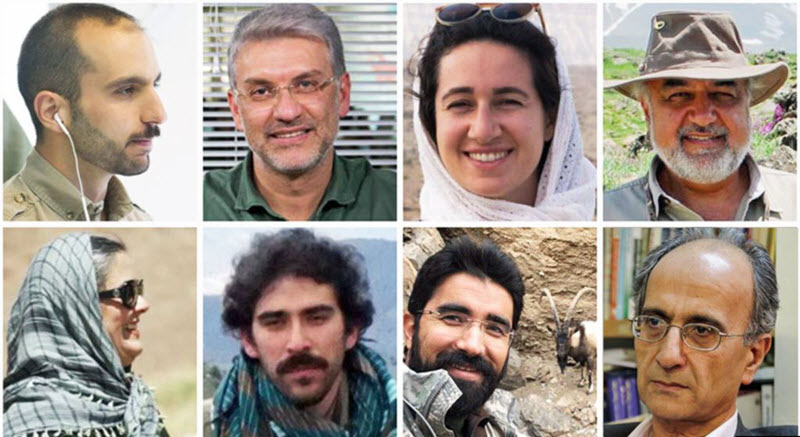 Calls for release of illegally detained environmentalists in Iran
