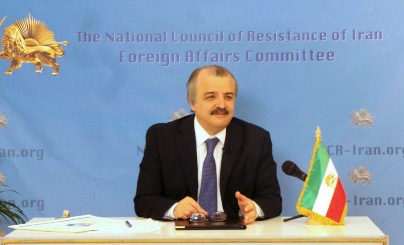Mohammad Mohaddessin, Chairman of the Foreign Affairs Committee of the National Council of Resistance of Iran-NCRI