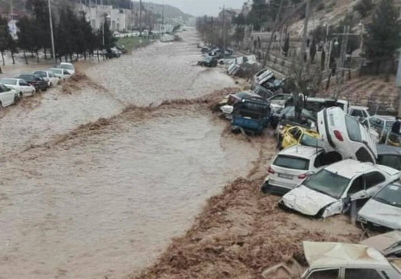 """Amidst devastating floods, Iran Regime allocates 80 times more money to """"religion"""" than disaster relief"""