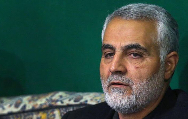 General Qassem Suleimani, the leader of Iran's terrorist Quds force