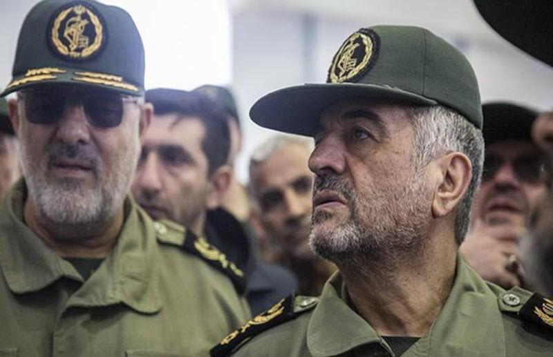 Mohammad Ali Jafari, the head of Iran regime's Islamic Revolutionary Guards Corps
