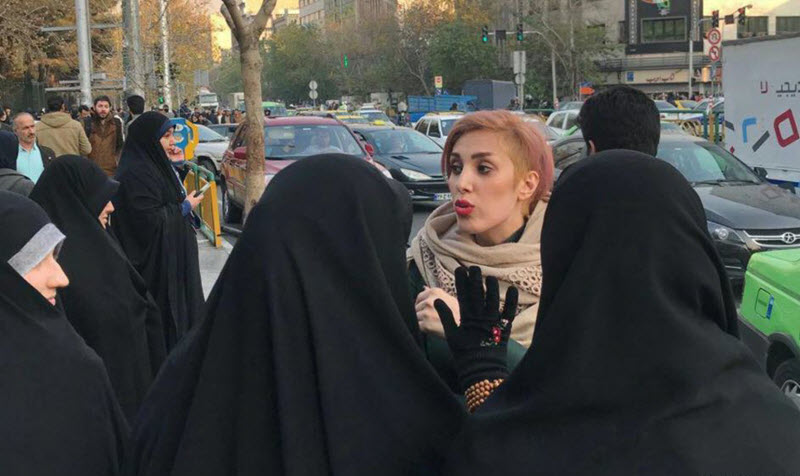 Women Protesting Hijab Laws Violently Attacked by Iranian Pro-Government Vigilantes