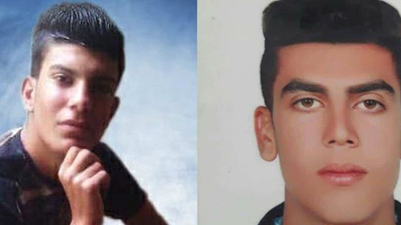 two cousins under the age of 18, were flogged, and then executed on April 25th in Adelabad prison in Shiraz, Fars province, southern Iran.