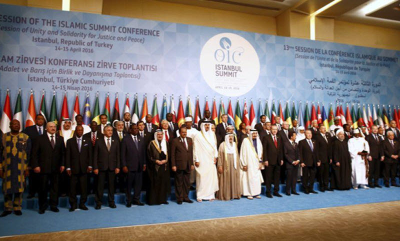 Leaders and representatives of the Organisation of Islamic Cooperation-OIC
