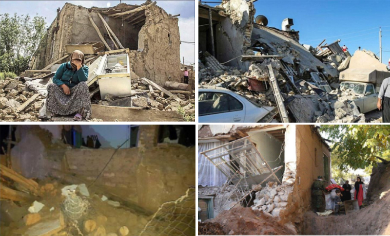 People are in dire need of help in earthquake hit areas of northwest Iran