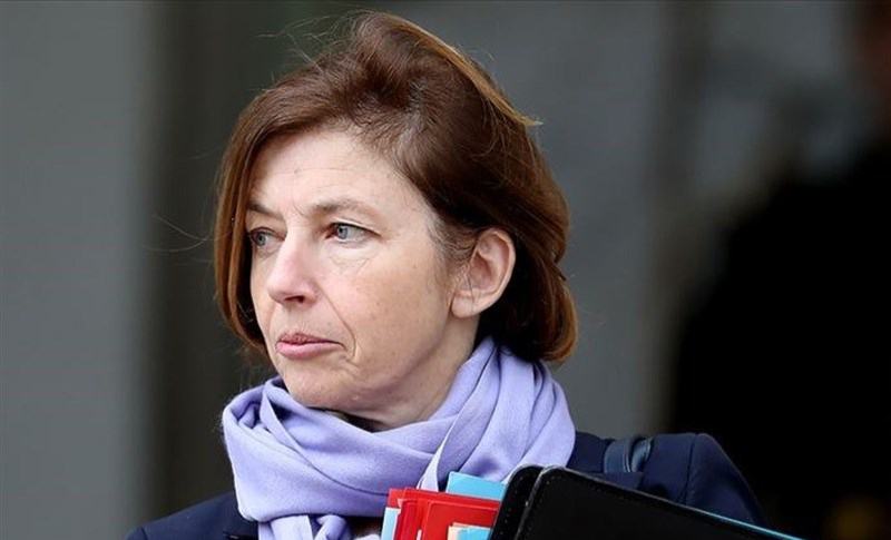 France's defense minister Florence Parly visited a French naval base in Abu Dhabi, the capital of the UAE to base a command post.
