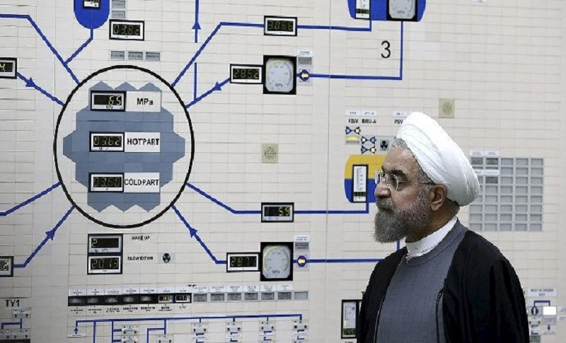 Hassan Rouhani (Iranian regime president) declared the fourth step in breaching the Iran nuclear deal