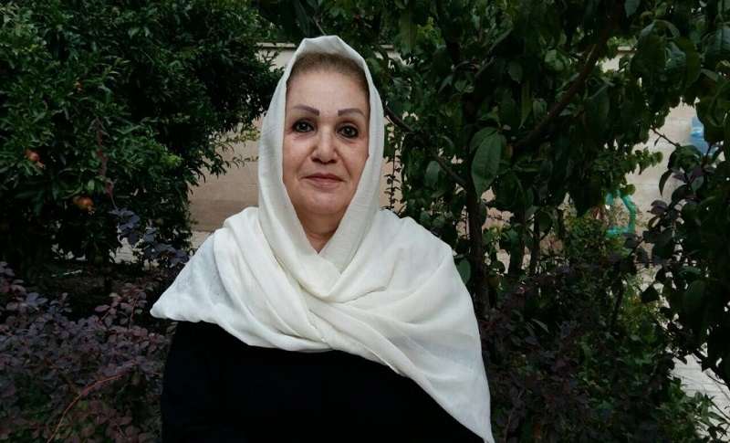 Raheleh Rahemipour, Iranian human rights activist, was arrested again when she presented herself to the Evin Court in October.