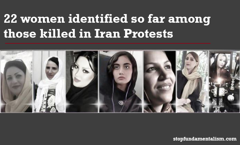 A 13-year-old girl is confirmed dead and five women have been arrested in the ongoing Iran protests.