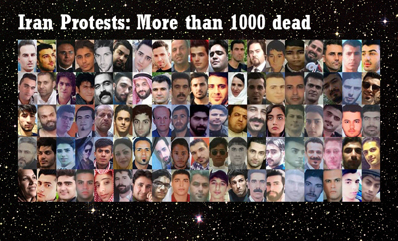 According to People's Mojahedin Organization of Iran (PMOI/MEK) a number of victims who have been identified so far are 457.