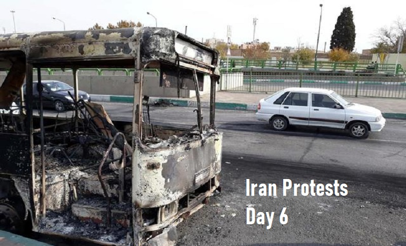Iran nationwide protest is continuing in spite of the brutal crackdown